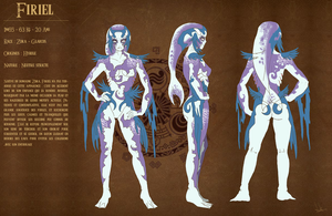 Model sheet Zora Firiel by Dormin-Kanna