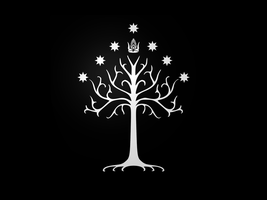 Tree Of Gondor Wallpaper by ghigo1972