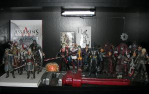 Video Game Action Figure Shelf by Trevman63