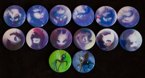 Buttons by Mao-Ookaneko by CreepyRiver