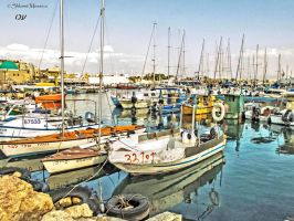 Acre port by ShlomitMessica