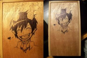 Rin charcoal box by kotorikurama