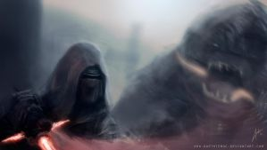 Kylo Ren by DarthTemoc