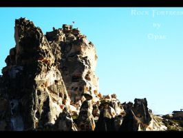 Rock Fortress by Opareq