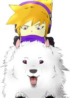 Neku and Dog by tomon000