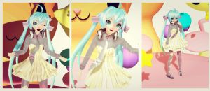 .:J11 -Hatsune Miku Mintfrappe- Preview :. by johnjan11