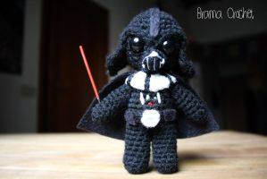 Darth Vader Star Wars Amigurumi doll by BramaCrochet