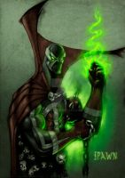 Spawn Lucky 13 Colored Entry by feliu