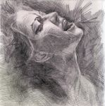 Amanda Palmer in graphite by thecory