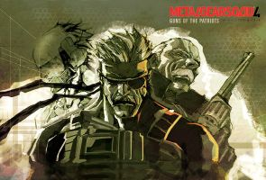 mgs4 by nefar007