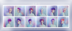 EXO OVERDOSE ICONSET by guozi8242