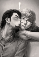 kiss (*Yaoi) by narcissusid