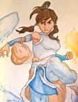 Korra by CaptainMockingjay42