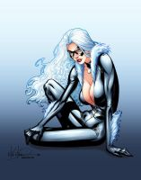 Black Cat by Mike S Miller by ChrisSummersArts