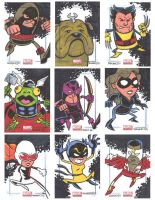 Marvel Universe Sketchcards 12 by thecheckeredman