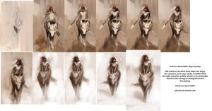 Princess Mononoke Tutorial by Alex-Chow