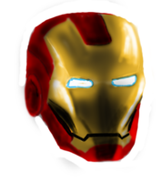 Iron man quick sketch by anakrusix