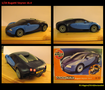 AirFix 1/24 Bugatti Veyron QuickBuild by Tank-Dragon2014