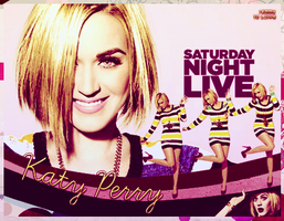 Katy Perry SNL by EmmyMonteiro