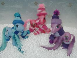 The Winter Pony collection by Barkingmadd