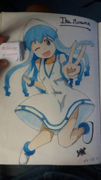 Ika Musume - request vt2000!!! by delau28