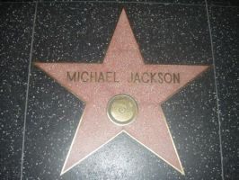 Michael Jacksons star by Princess-rachael