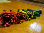 Duct Tape Flowers 3 by SharpieObsessed