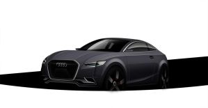 Audi S5 front by Ghost21501