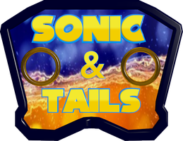 Sonic&Tails Logo by JaysonJean