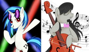 The Musical Duo by Chaotic-Brony