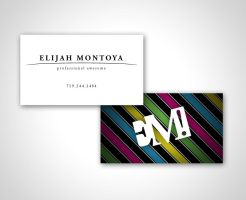 Elijah Montoya Biz Card by MarkRantal