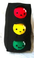 Traffic Light Plush by PinkChocolate14