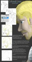 Colored Lines Tutorial - photoshop by Tigershark06