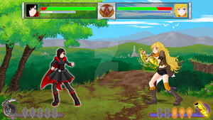 SUPER RWBY Tournament Fighter II Turbo:  HD Remix by TheRogueSPiDER