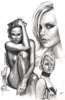 Charlize Theron by Alleycatsgarden