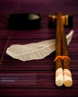 chopstick at home by mohamadfazli