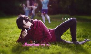 Adventure Time! Marshall Lee cosplay by MrProton