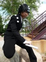 SE Cosplay: Death the Kidd 02 by vivid-anxiety