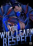 Kitana: YOU WILL LEARN RESPECT by Bakerrrr