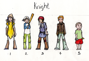 Knight Concepts by Aileen-Kailum