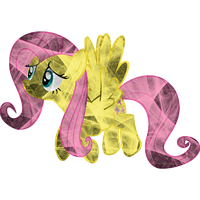 Electric Fluttershy by uxyd
