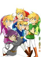 4 Links + Shadow Link by Anyarr
