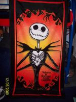 Jack Skellington towel by foxanime101