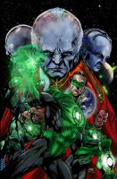 Green Lantern Videogame Cover. by Inhuman00