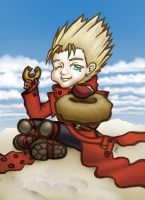 Vash: Want one? by Dibei-Chan