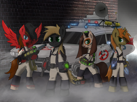 Hijacked Request - Ponyville Ghostbusters by Muffinsforever