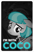 I'm With Coco (Pommel) by buckweiser
