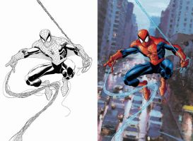 Romita Jr. Spider-Man by steveart81