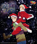 I Saw Daddy Kissing Santa by Hubedihubbe