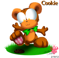 Giftart: Ooo look, Cookie :3 by Bowser2Queen